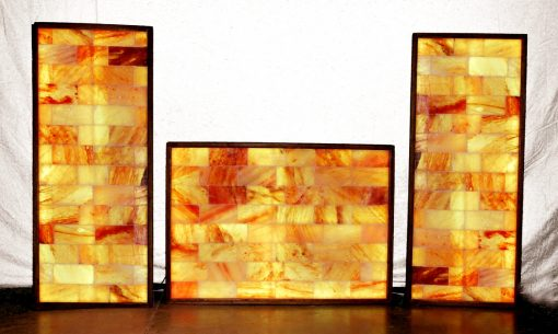 Himalayan salt wall 3 pack