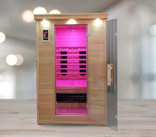 executive 2 person salt cave sauna