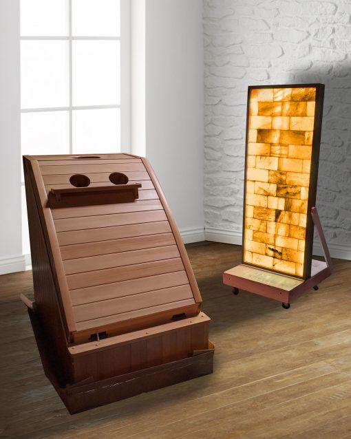 infrared Sauna Heads Up Design