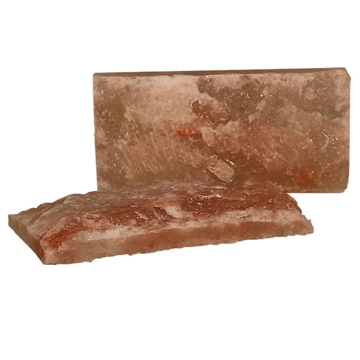 """4"""" x 8"""" x 1"""" Rough Face Himalayan Salt Bricks"""