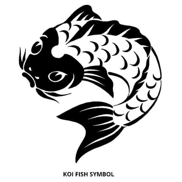Koi Fish Symbol