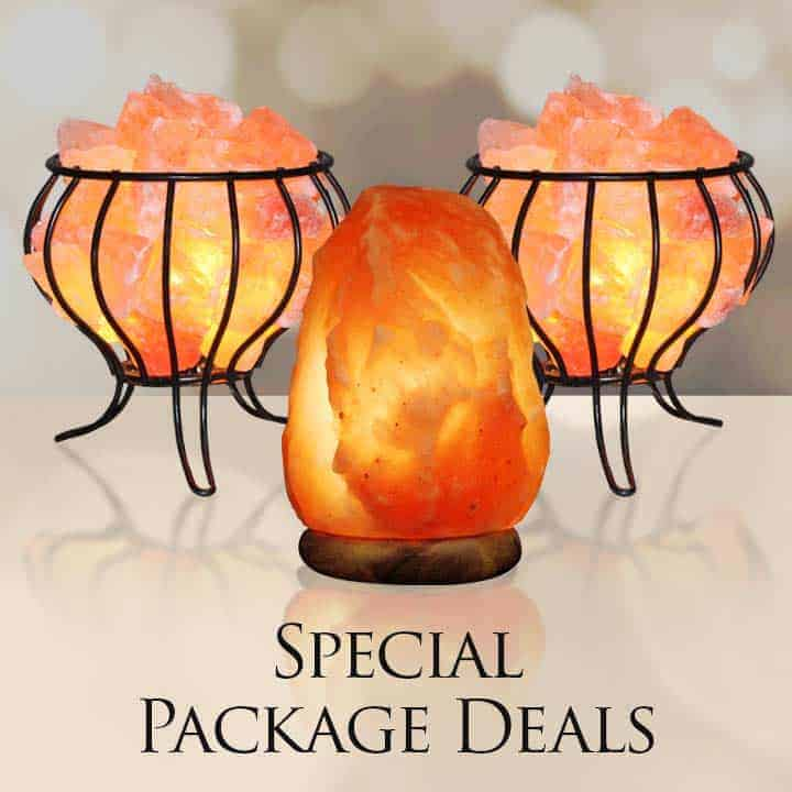 Salt Lamp Value/Gift Pack