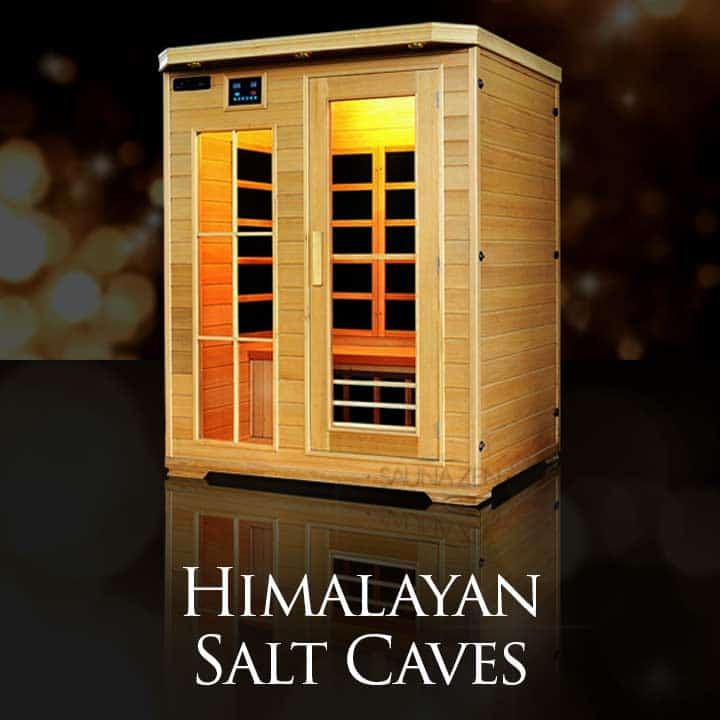 4 person salt cave sauna