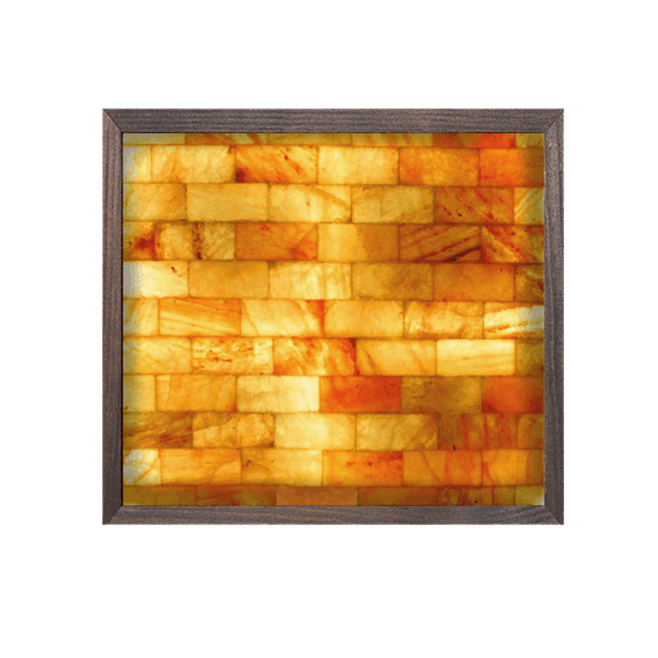 3' x 3' Square Salt Brick Wall Panel