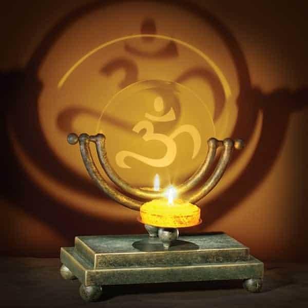 Projection Candle Holder for Meditation