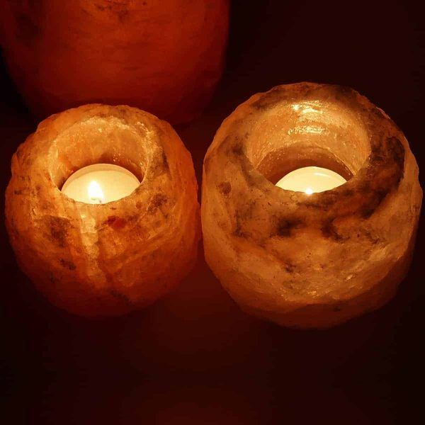 Pair of Himalayan Salt Tea Lights