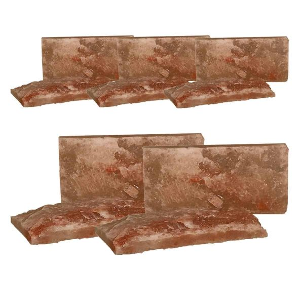 4x8x1 Rough Faced Salt Brick Quantity 10
