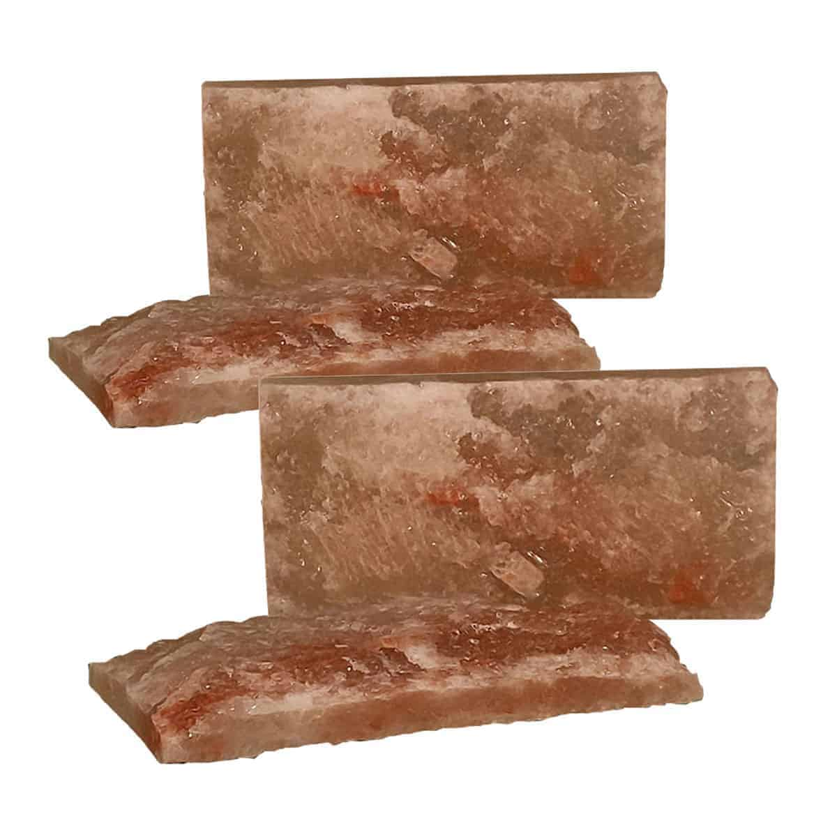 4x8x1 Rough Faced Salt Brick Quantity 4