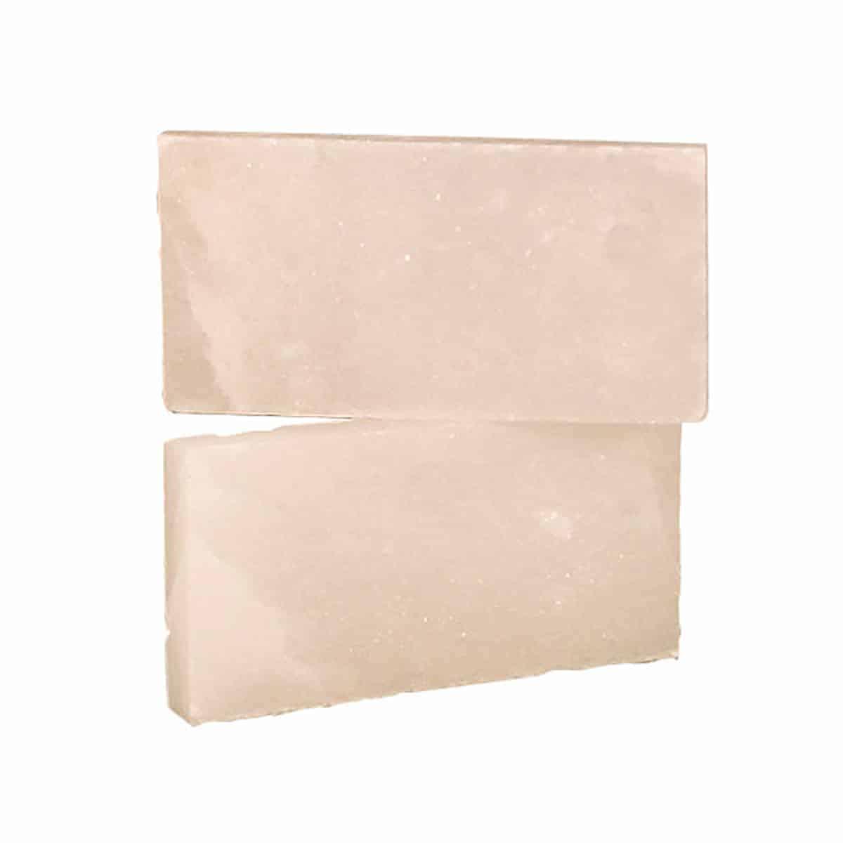 "4"" x 8"" x 1"" White Himalayan Salt Bricks"