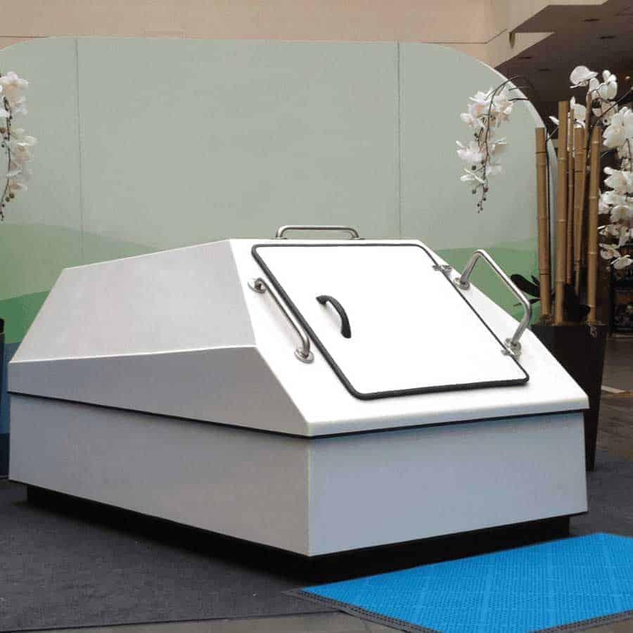 Large Sensory Deprivation Float Tank