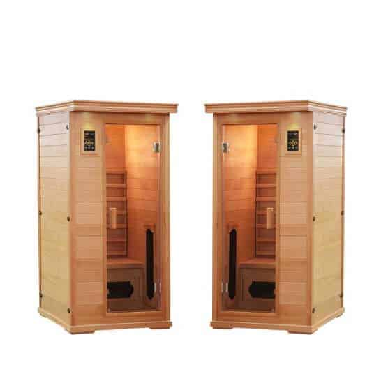 SPA PACK: Two (2) Executive Single Person Salt Cave Saunas