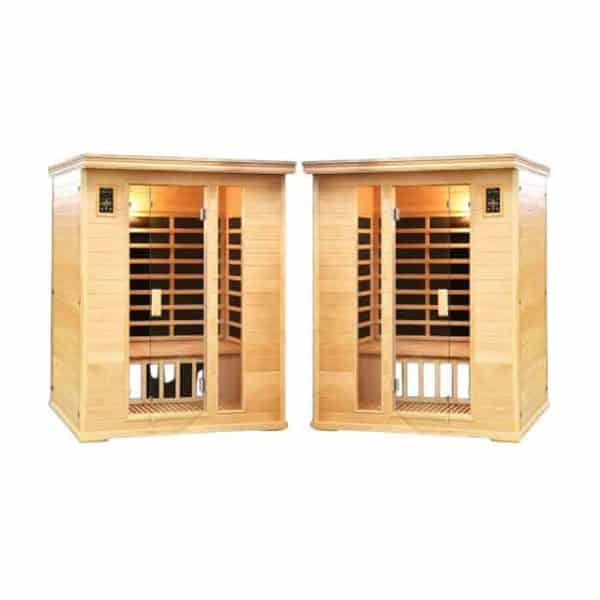 SPA PACK: Two (2) Duet Two Person Salt Cave  Saunas
