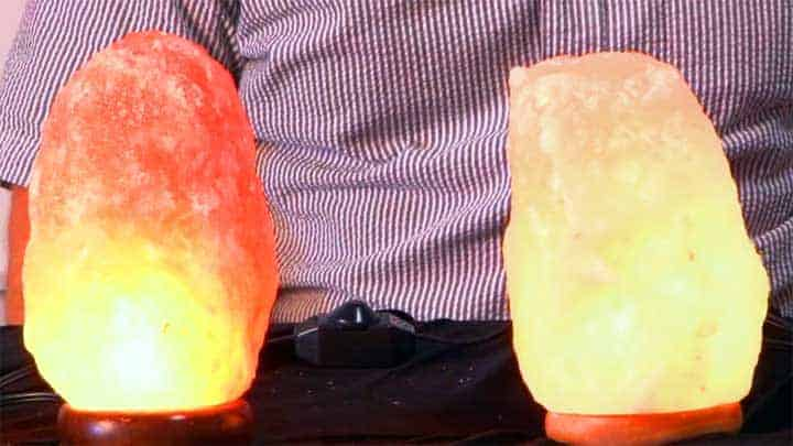 Not all salt lamps are created equal