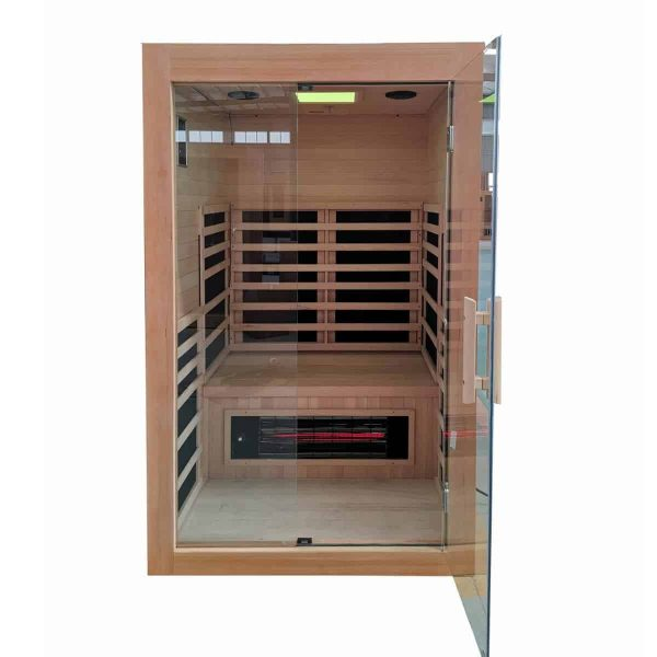 The Savannah Salt Cave Sauna ALL NEW! Contemporary Salt Cave and Full Spectrum Infrared Sauna