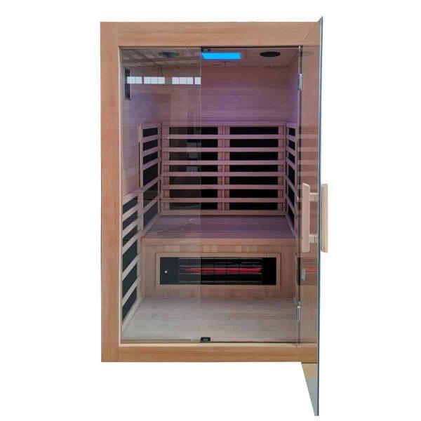 Savannah Infrared Sauna Front View