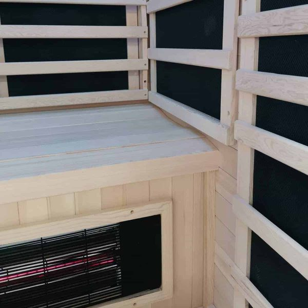 Savannah Infrared Sauna Interior