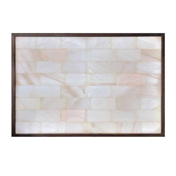 Rare White Brick 3x4 Salt Wall