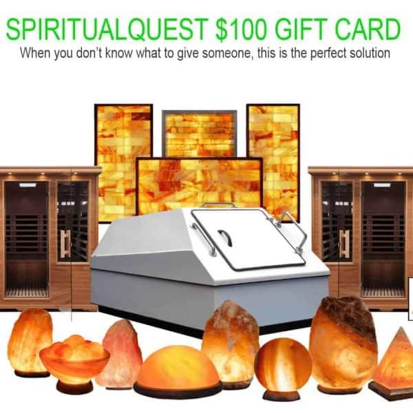SPIRITUALQUEST $100 Gift Card