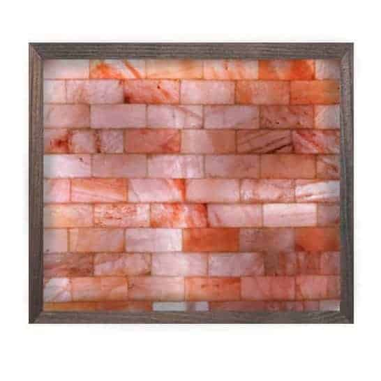 3′ x 3′ Square Salt Brick Wall With LED Backlight