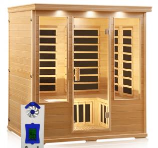 4 Person Sauna with HaloGenerator