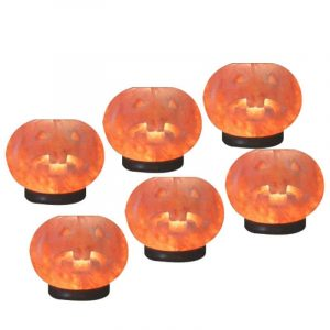 Himalayan Salt Lamp Pumpkins