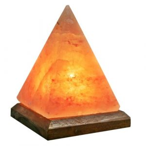 Pyramid salt lamp by spiritualquest himalayan salt experts
